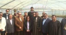 نائب وزير الزراعة ومحافظ الفيوم
