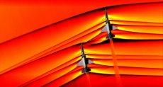 طائرتان تخترقان جدار الصوت