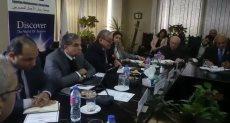 المهندس حسن الشافعى عضو مجلس إدارة جمعية رجال الأعمال