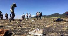 الطائرة الاثيوبية المنكوبة
