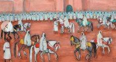 رسومات أفريقية قبل بيعها فى مزاد سوثبى