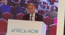 المهندس عمرو نصار يلقي كلمته بالمؤتمر