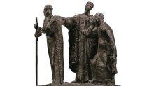 """تمثال """"المتسولون الثلاثة"""" النادر لمحمود مختار"""