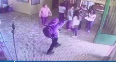 لحظة إطلاق النار على تلاميذ مدرسة ابتدائية فى البرازيل