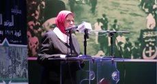 الدكتورة لطيفة سالم عضو لجنة التاريخ بالمجلس الأعلى للثقافة