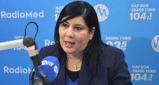 عبير موسى -  رئيسة الحزب الدستوري الحر في تونس