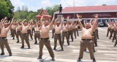 ضباط الشرطة في تايلاند