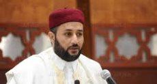 الشيخ أكرم الجرارى رئيس فرع المنظمة بليبيا