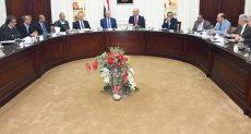 جانب من اجتماع وزير الإسكان ومحافظ جنوب سيناء