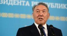 رئيس كازاخستان المستقيل نور سلطان نازارباييف