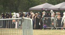جنازة شهداء مذبحة نيوزيلاندا