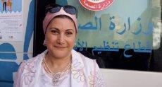 الدكتورة سحر السنباطى رئيس قطاع السكان