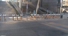 الدراجات فى ميلانو