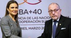 وزير الاستثمار ووزير خارجية الأرجنتين