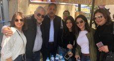 روجينا في انتخابات التجديد النصفي بنقابة المهن التمثيلية