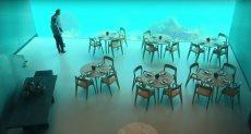 """مطعم أوروبي """"أندر"""" مغمور تحت الماء"""