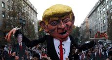 احتجاجات ضد قمة بروسور بتشيلى