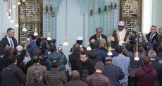 الأمين العام للأمم المتحدة داخل مسجد فى نيويورك