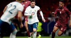 مباراة الارجنتين وفنزويلا