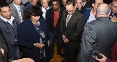 وزيرة الثقافة تفتتح قصر ديرب نجم