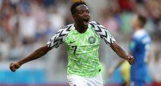 أحمد موسي لاعب منتخب نيجيريا