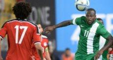 منتخب مصر ونيجيريا