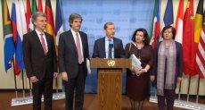 مندوبو فرنسا وبلجيكا وبريطانيا وألمانيا وبولندا في الأمم المتحدة يصدرون بيانا مشتركا حول الجولان