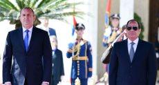 الرئيس السيسى ونظيره البلغارى