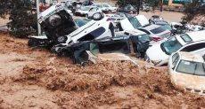 ضحايا السيول