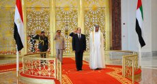 الرئيس السيسي والشيخ محمد بن زايد آل نهيان