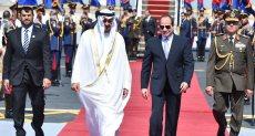 الرئيس السيسي وسمو الشيخ محمد بن زايد