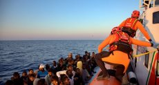 إنقاذ مهاجرين - أرشيفية