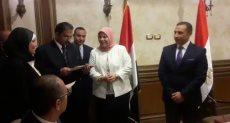 """وزارة العدل تحتفل بحصول """"الطب الشرعي"""" على الأيزو"""