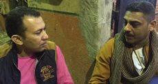 الزميل محمود عبد الراضى وأحد الشهود