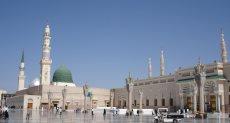 المسجد النبوي الشريف بالمدينة المنورة