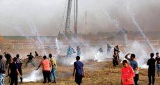 قوات الاحتلال تطلق قنابل الغاز - أرشيفية