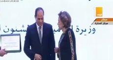 الرئيس السيسى وميرفت التلاوى