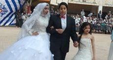 حفل زفاف بمدرسة ثانوى