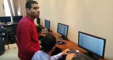 المهندس الشاب الكفيف المعتز بالله عبد النبى
