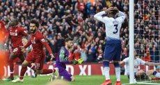 لحظة الهدف القاتل لفريق ليفربول أمام توتنهام