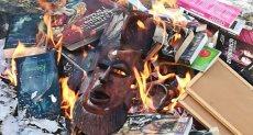 حرق كتب هارى بوتر