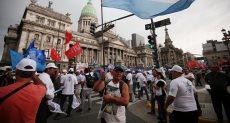 مظاهرات فى الأرجنتين