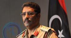 المتحدث الرسمى باسم القوات المسلحة الليبية اللواء أحمد المسمارى