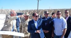 الرئيس عبد الفتاح السيسي يتفقد مشروعات