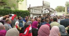 مسيرة ضخمة لمعلمى مصر تأييدا للتعديلات الدستورية