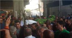 تشييع جثمان الفنان إسماعيل محمود