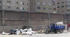 اتشار القمامة فى مناطق المرج