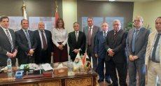 جانب من لقاء وزيرة الهجرة مع الهيئة الوطنية للانتخابات