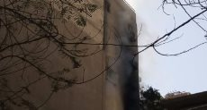 حريق بشقة سكنية فى المهندسين