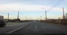 أثناء إنفجار كرة النار في سماء سيبيريا